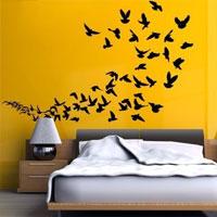 """Adesivo murale """"Uccelli in volo"""""""