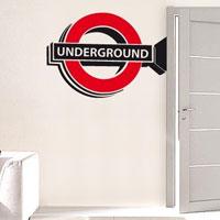 """Adesivo murale """"Underground"""""""