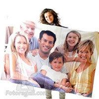 Foto su Coperta Love personalizzabile
