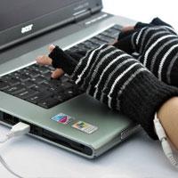 Guanti riscaldanti USB