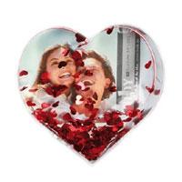 Portafotografie Romantico a forma di cuore