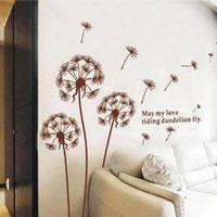 Sticker murali a forma di soffione