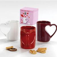 Tazza Cuore in ceramica San Valentino