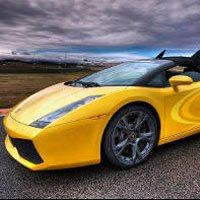 Guidare una Lamborghini su pista