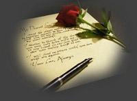 mano lettera