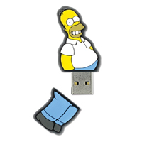 Pen Drive USB Homer Simpson