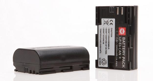 Batteria di scorta reflex - idea regalo per appassionati di fotografia