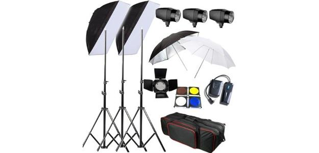 Illuminazione per studio fotografico - idea regalo per fotografi