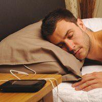 Goodnight: cuscino con speaker integrato