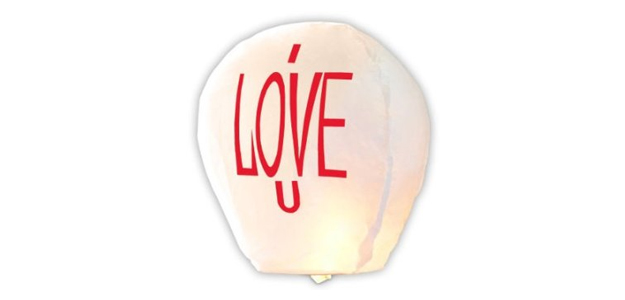 Lanterna I Love You