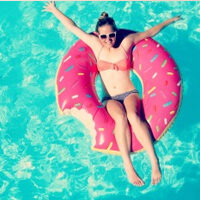 Ciambella Donut gonfiabile