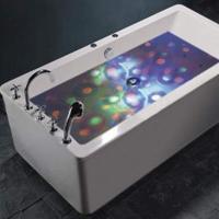 Show di Luci per vasca da bagno