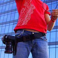 cintura macchina fotografica