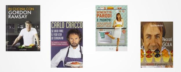 libri di cucina e pasticceria