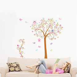 wall sticker amanti animali