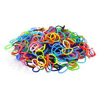 Colourful LOOM BANDS