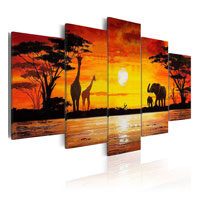 Quadro su tela a pannelli - Africa