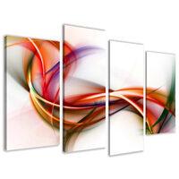 Quadro su tela a pannelli - abstract