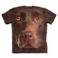 T-shirt Labrador Chocolate