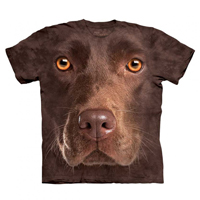 T-shirt Labrador Chocolate