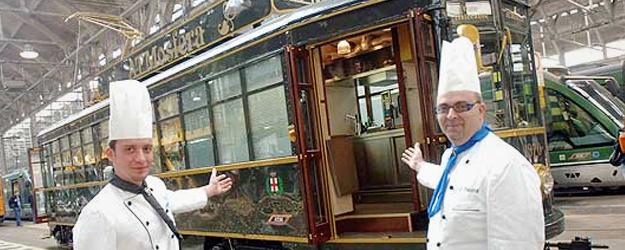 cena in tram
