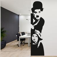 """Adesivo murale """"Charlie Chaplin: Il Monello"""""""
