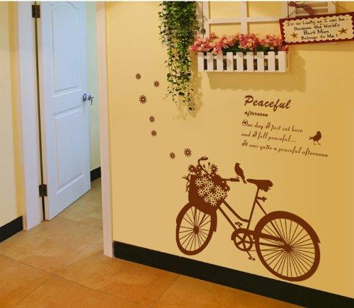 Adesivo murale bici vintage