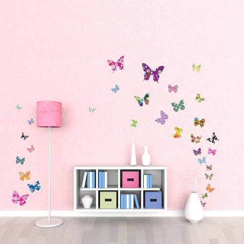 50 adesivi murali per la decorazione delle pareti di casa - Adesivi murali per camerette ...