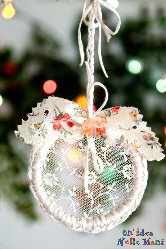 Addobbi natalizi e decorazioni natalizie fai da te 75 idee - Decorazioni oggetti fai da te ...