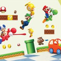 Sticker murale Super Mario