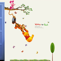 Sticker murale Winnie the Pooh