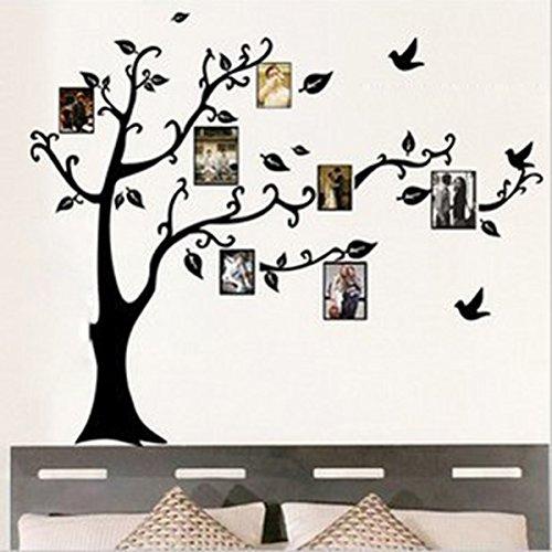 adesivo murale albero portafoto