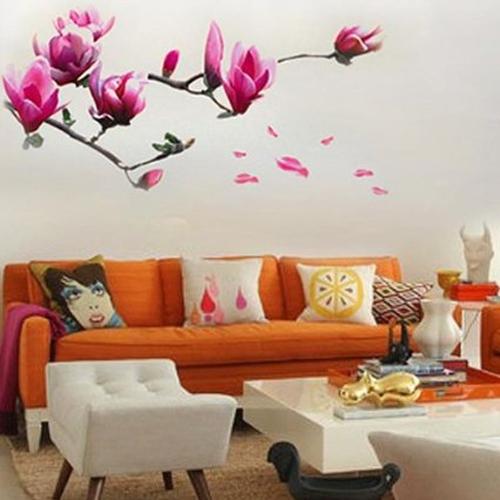 50 adesivi murali per la decorazione delle pareti di casa - Decorazione muri interni ...