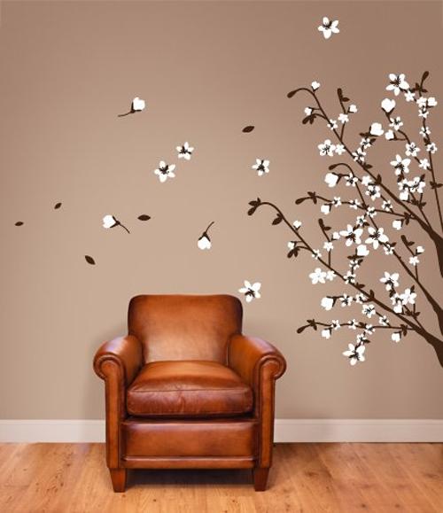 50 adesivi murali per la decorazione delle pareti di casa for Adesivi per pareti