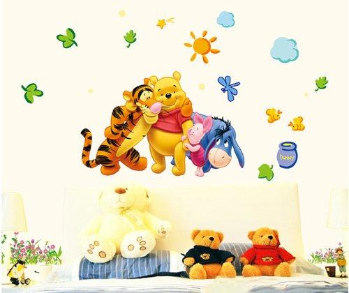 adesivo murale winnie pooh