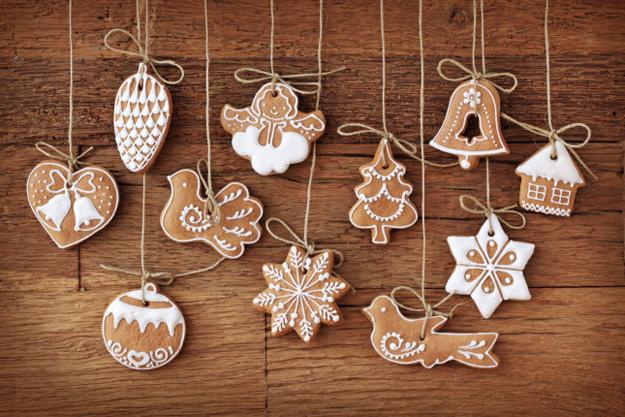 addobbi natalizi e decorazioni natalizie fai da te: 75+ idee - Decorazioni Con Biscotti