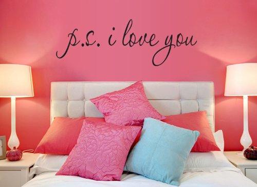 "Adesivo ""P.S. I Love You"""
