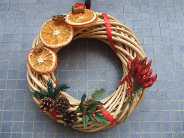 Addobbi natalizi e decorazioni natalizie fai da te 75 idee - Arance secche decorazione ...