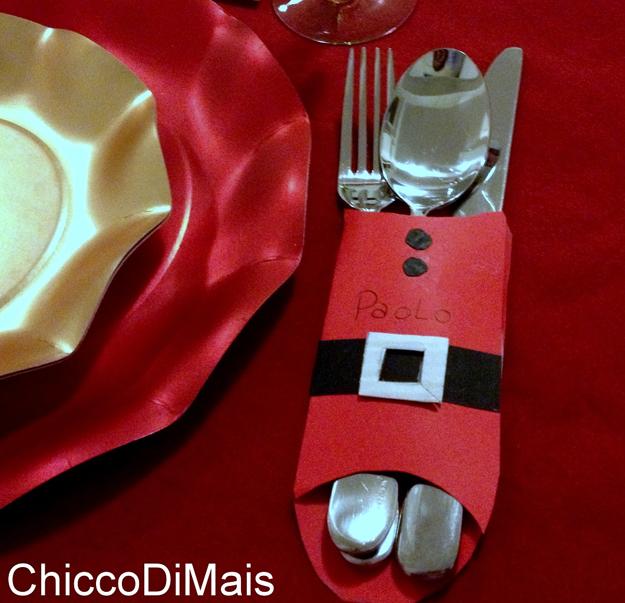 Addobbi natalizi e decorazioni natalizie fai da te 75 idee - Decorazioni tavola natalizie fai da te ...