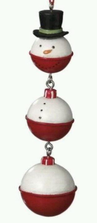 Pupazzo di Natale con palline