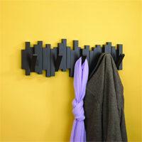 Appendiabiti da parete con ganci