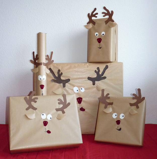 Pacchetto regalo renna