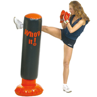 Sacco gonfiabile per aereo boxe e kick boxe