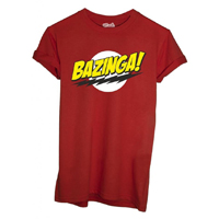 T-shirt Bazinga - Big Bang Theory