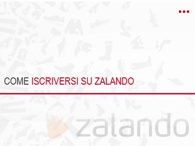 Come registrarsi su Zalando 62dd09ed8c9