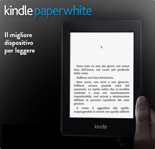 ebook reader kindle paper white