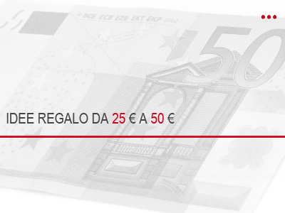 Idee regalo budget 50 euro