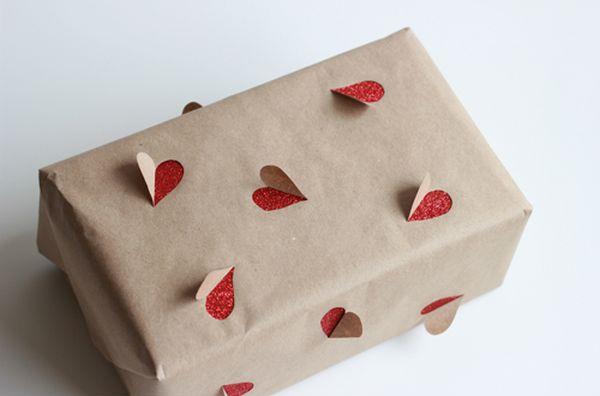 Pacchetti regalo con cuori