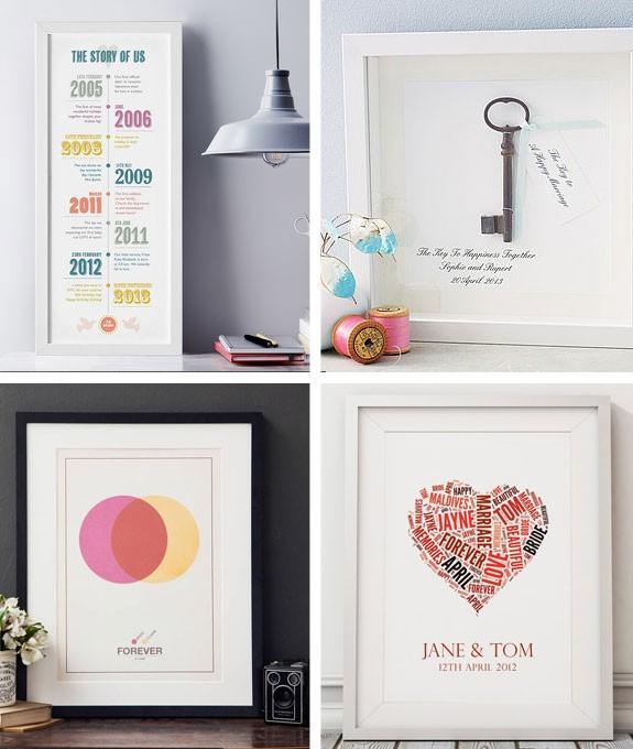 quadri stampe per il matrimonio