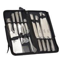 set di 9 coltelli professionali